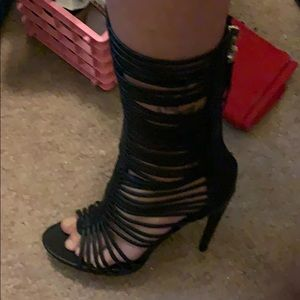 Penny Loves Kenny Shoes - B.N., Tall Gladiator heeled sandal, size 7